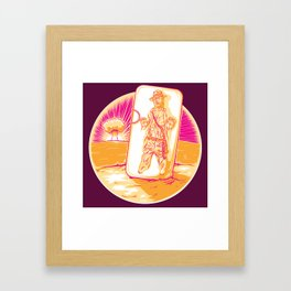 Handiana Framed Art Print