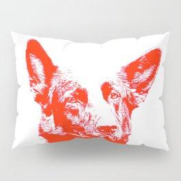 red Mitzi Pillow Sham