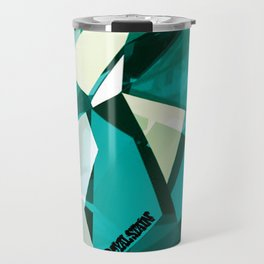 Turquoise Quartz Royal Stain Travel Mug