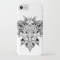 deathly hallows iPhone & iPod Cases featuring Deathly Hallows  by KropsGrafik
