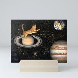 Cat.In.Space. Mini Art Print