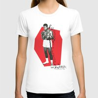 ali T-shirts featuring Ali by Dayle Kornely