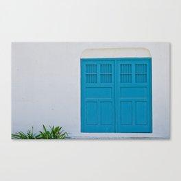 Cyan Canvas Print
