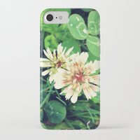 clover iPhone & iPod Cases featuring Clover by ADH Graphic Design