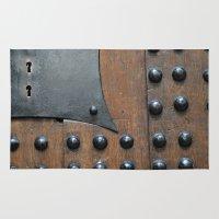 door Area & Throw Rugs featuring Door by constarlation