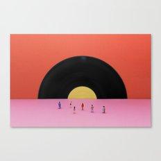 Soundset Canvas Print