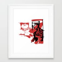 poland Framed Art Prints featuring Poland by viva la revolucion
