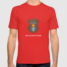 Loot #4 - Battlecage of Kabr X-LARGE Red Mens Fitted Tee
