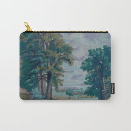 Green Forest by Lika Ramati  Carry-All Pouch