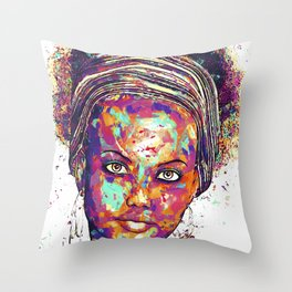 SPLASH OF LOVE Throw Pillow