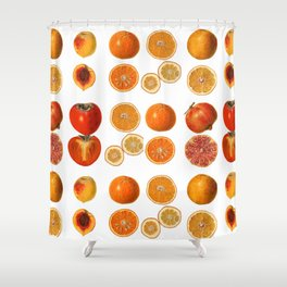 Fruit Attack Shower Curtain