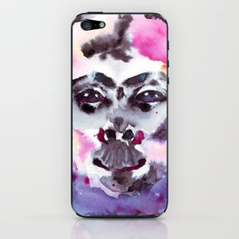 Psychedelic Monkey iPhone Skin