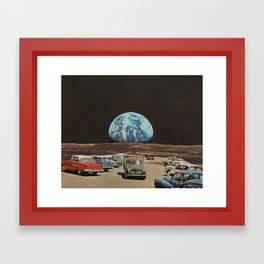 King park Framed Art Print