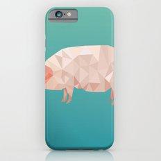 Geometric Pig Slim Case iPhone 6s
