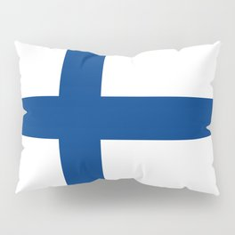 National flag of Finland Pillow Sham