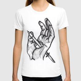 Hands of a killer  T-shirt