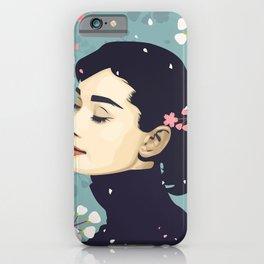 Bloom Hepburn iPhone Case