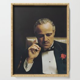 Godfather - Vito Corleone - Mafia - Italian Serving Tray