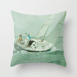 Sail Throw Pillow