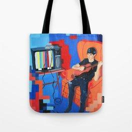 PIXEL BAND Tote Bag