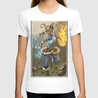 the legend of korra T-shirts featuring The Legend Of Korra by Fran Agostinelli