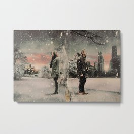 Christmas / OQ Worlds Apart Metal Print