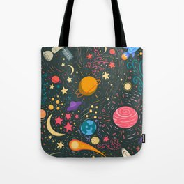 Space adventure Tote Bag