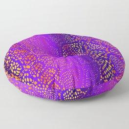 Colorful Snake Skin Floor Pillow
