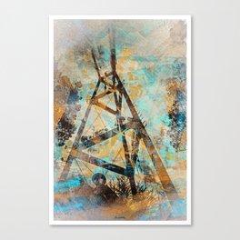 Electro Sutro Fog off Twinpeaks Canvas Print