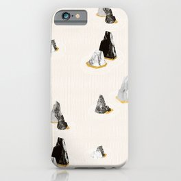 Marble Rock Formation iPhone Case