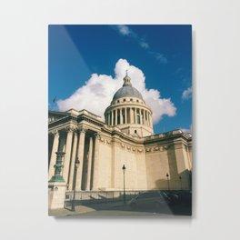 Pantheon, Paris Metal Print