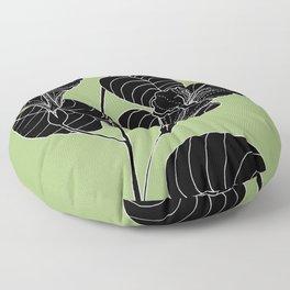 Bush Potato (Also known as Desert Yam) - Ipomoea costata Floor Pillow