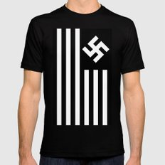 G.N.R (The Man in the High Castle) MEDIUM Black Mens Fitted Tee