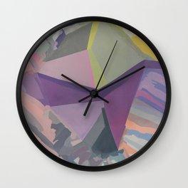 Celadon & Primrose  Wall Clock