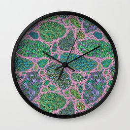 Nugs in Color Wall Clock