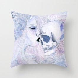 Deaths Garden Throw Pillow