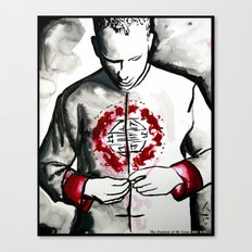 The Passion of Mr Gone  Canvas Print