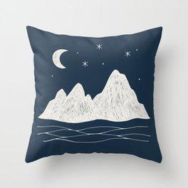 sonoran night Throw Pillow