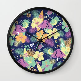 Honolulu Wall Clock