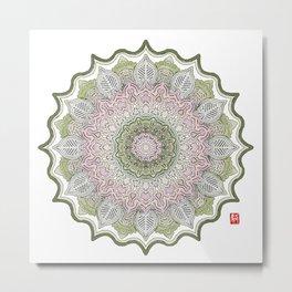 Mandala - Spring Metal Print