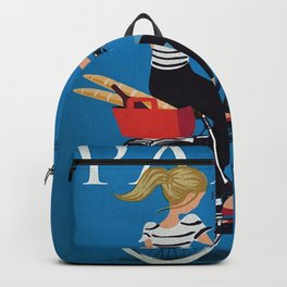 Vintage poster - Paris Backpack