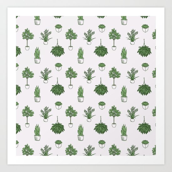 House Plants Pattern by briabellamah