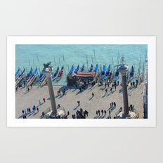 Venice from Above Art Print