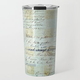 carnet de chèques Travel Mug