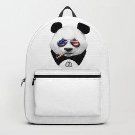 All American Panda Backpack