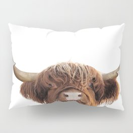 Highland cow, brown cow Pillow Sham