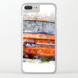 NSU TT Clear iPhone Case