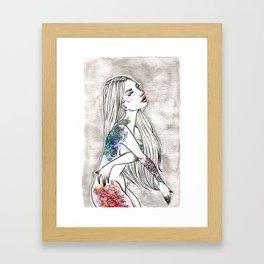 Inky 2 Framed Art Print