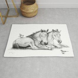 Twin Foals Rug