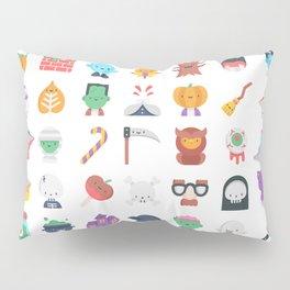 CUTE HALLOWEEN COSTUME FALL PATTERN Pillow Sham